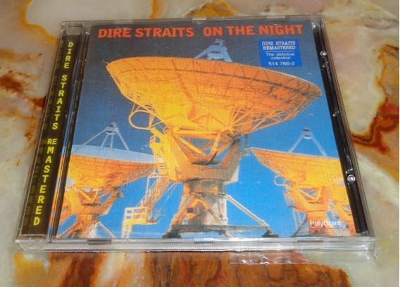 Dire Straits - On The Night - Cd Arg.