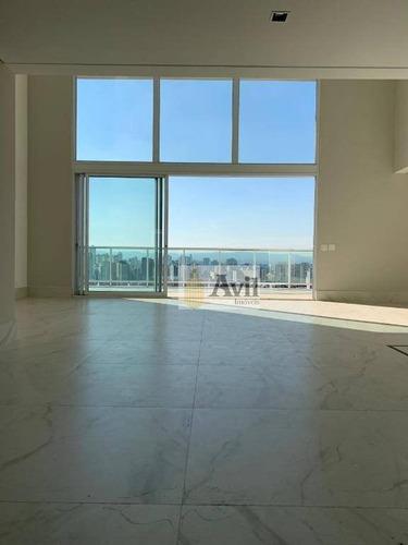 Cobertura Com 4 Dormitórios À Venda, 342 M² Por R$ 4.770.000,00 - Vila Mariana - São Paulo/sp - Co0072