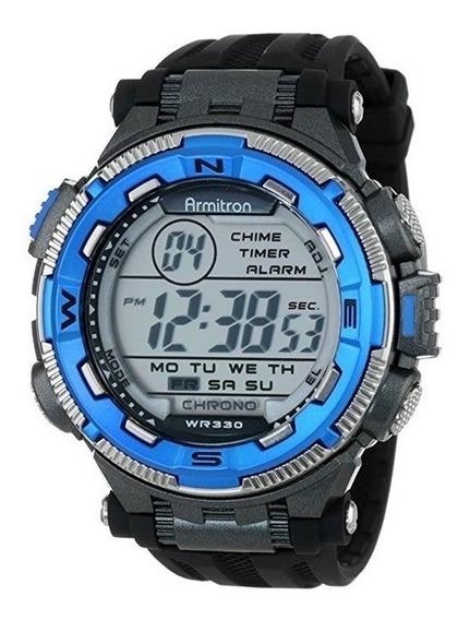 Relojes Hombre Armitron 40/8301 Azul Y Negro
