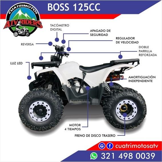 Cuatrimoto 125 Boss, Ojo Con Motor Real 125cc Nueva 2019