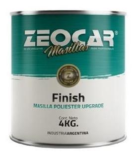 Zeocar Masilla Finish Poliester X 4 Kg. Pinturerias Ogus