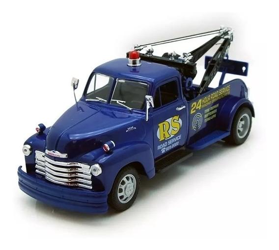 Chevrolet Tow Truck 1953 A Escala Welly 1/24