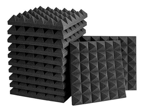 Imagen 1 de 5 de Panel Acústico Piramidal 3d Espuma Acústica Para Estudio