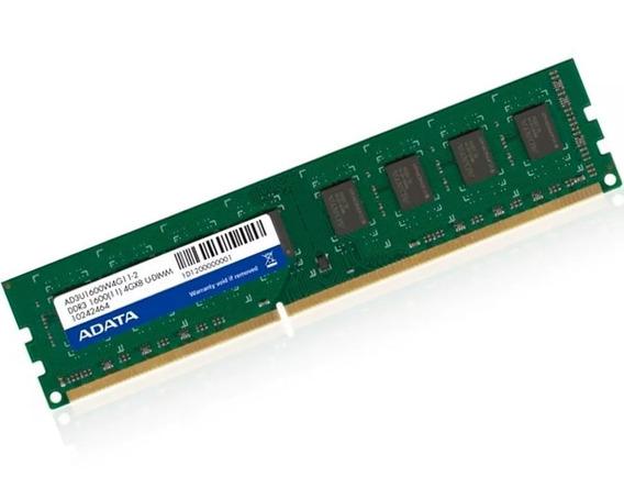 Memoria Ram Pc 4gb 1600mhz Adata 1600 Ddr3 Fullh4rd