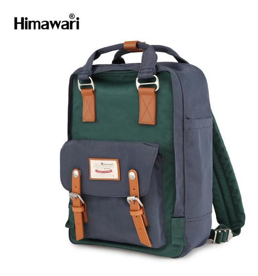 Mochila Bolso Himawari Retro 11 Colores Envio Gratis