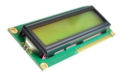 Display Lcd 16x2 1602 Com Fundo Verde E Blacklight