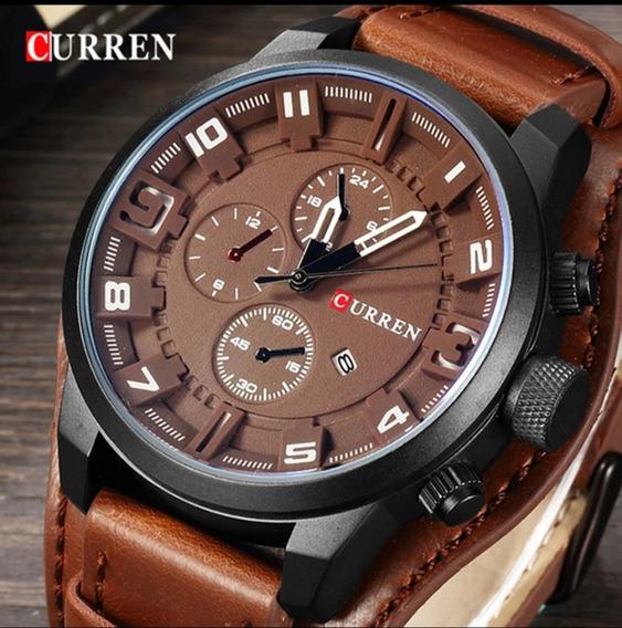 Curren 8225 Relógio Masculino Top A Prova D