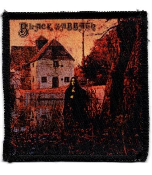 Patch Sublimado - Black Sabbath - Capa 1o Album - Patch 106