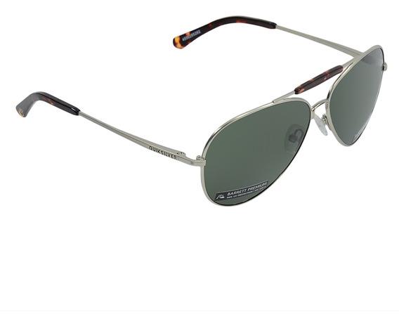Óculos Quiksilver Barrett Premium Polarizado Cinza Escuro