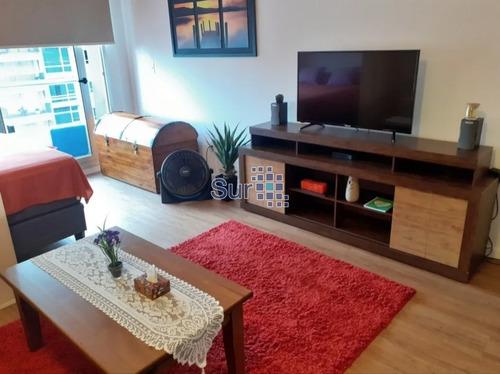 Apartamento Amueblado En Punta Carretas- Ref: 212