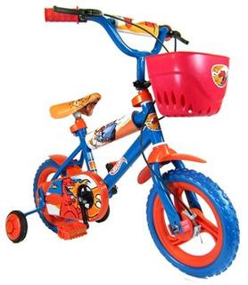 Bicicleta Rod 12 Hot Wheels Rodado 12 Unibike 5001