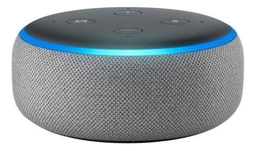 Imagen 1 de 4 de Amazon Echo Dot 3rd Gen con asistente virtual Alexa heather gray 110V/240V