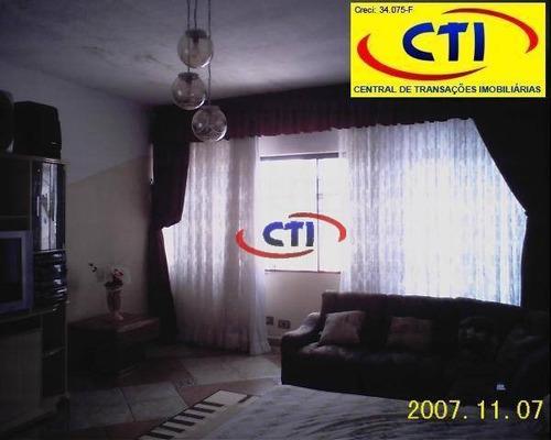 Sobrado  3 Dormititórios À Venda, Paulicéia, São Bernardo Do Campo. - So0106