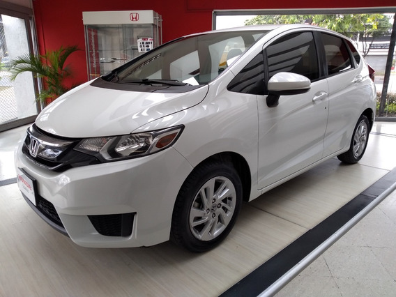 Honda Fit Lx At Blanco Orquídea 2015
