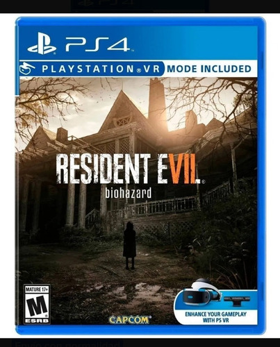 Resident Evil Biohazard Ps4 Juego Fisico
