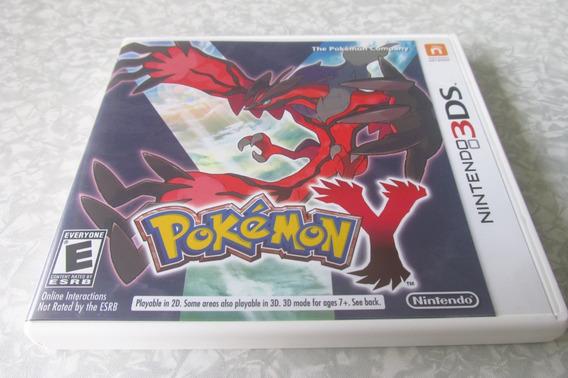 Nintendo 3ds - Pokémon Y - Original Americano