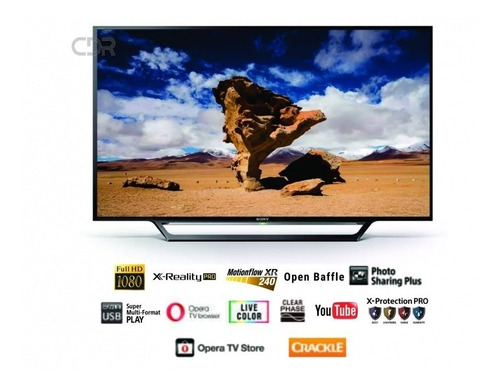 Imagen 1 de 3 de Televisor Led Sony 55  Smart Full Hd