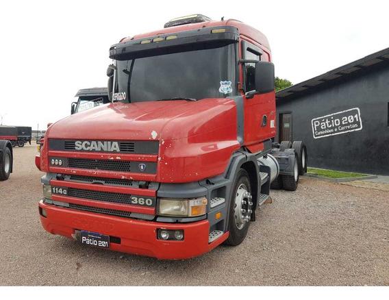 Caminhão Scania 114 360 Bicuda - 1999 - 6x2 Trucado