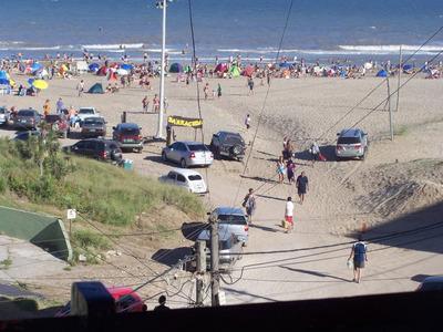 Alquilo Depto Frente Al Mar Con Cochera Fija Y Techada (únic