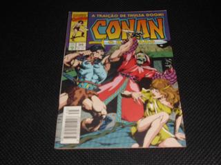 Hq Conan O Bárbaro Nº 35 - Ed. Abril - 1995