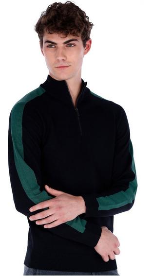 Suéter Casual Para Hombre Con Franja Generra 828801