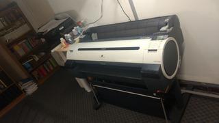 Impresora Plotter Canon Ipf750 Con Error De Hardware