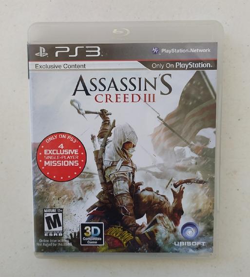 Assassins Creed 3 Ps3 Mídia Física - Legendado Português