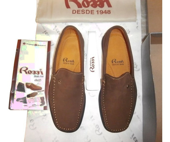 Zapatos Rossi Piel De Nubuck Talla 39 1/2