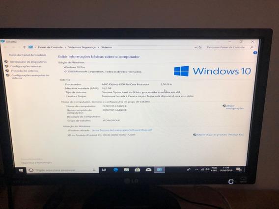Computador Completo Amd Fx 6300, 16gb, 600w, Ssd