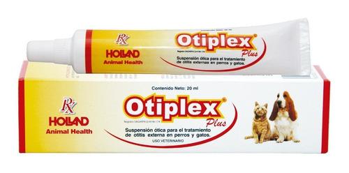 Otiplex Plus Suspención Ótica 20 Ml Perro Gato Holland 20 Ml