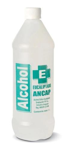 Alcohol Eucaliptado Ancap Graduación 70% Botella 950ml Litro