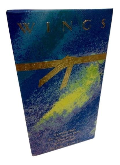 Perfume Wings Giorgio Beverly Hills 90 Ml Feminino Original