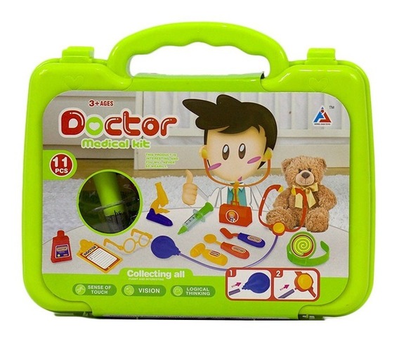 Maleta De Brinquedo Infantil Médico Dr Dodói