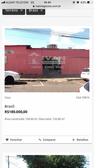 Casa B. Brasil 140m2 Construído, 150m2 Total.
