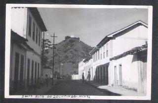 Foto Postal Ano 1957 Santa Rita Do Jacutinga Monte Calvário