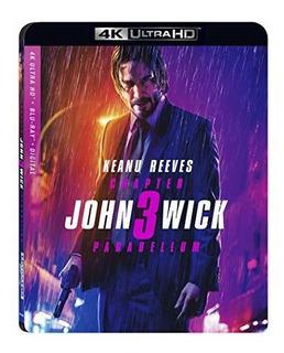 4k Blu-ray : John Wick: Chapter 3 - Parabellum (2 Discos)