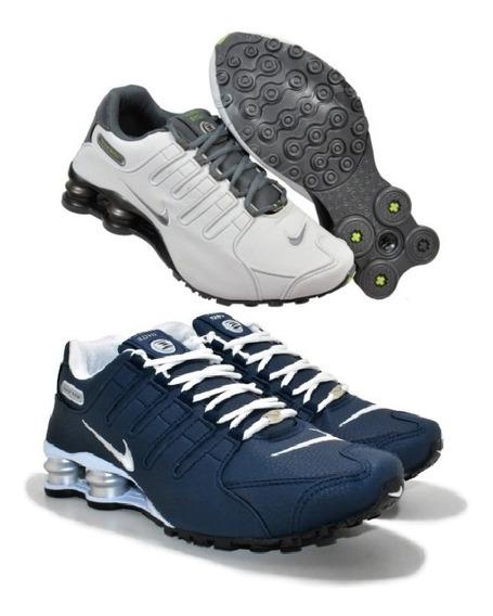 Tenis Sxhox Nz 4 Molas Masculino Promoção Kit 2 Pares