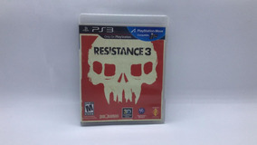 Resistance 3 - Ps3 - Mídia Física Em Cd Original