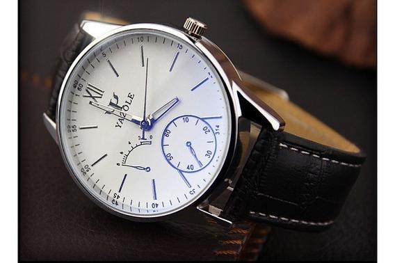 Relógio De Pulso Masculino Yazole Yz0314