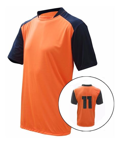 Camisa De Futebol Numerada Kit Com 14 Pçs Personalizadas