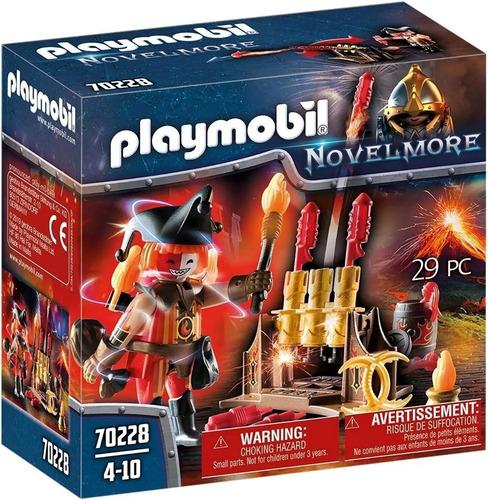 Playmobil 70228 Novelmore Maestro De Fuego Bandidos Burnham