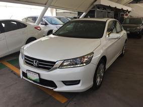 Honda Accord 4p Ex-l Sedan V6 Piel Abs Q/c Cd Cvt Nav