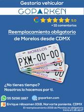 Gestoría Vehicular Placas Morelos, Cdmx, Edomex   Reemplaca