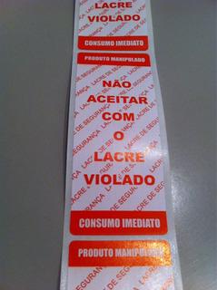 Etiqueta Lacre Caixa Pizza E Delivery A Maior 1000 Unid