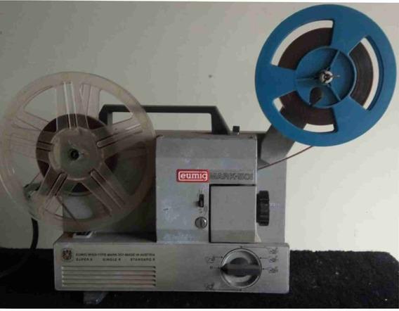 Projetor Antigo Funcionando 8mm