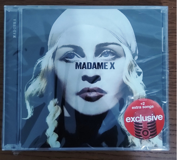 Cd Madonna Madame X Target Exclusive Lacrado Pronta Entrega