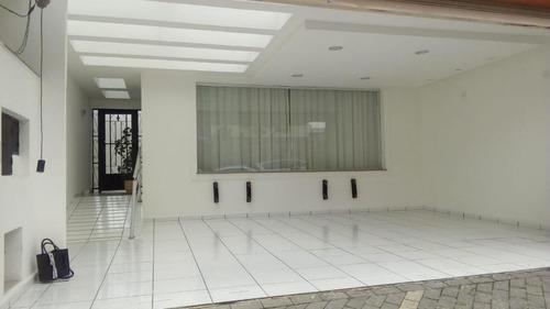 Sobrado Com 3 Dormitórios À Venda, 245 M² Por R$ 1.800.000 - Jardim Anália Franco - São Paulo/sp - So6470