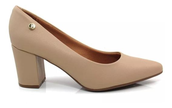 Sapato Feminino Vizzano Scarpin Salto Grosso 1290.400