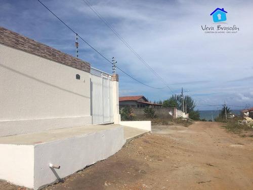 Casa Com 3 Dormitórios À Venda, 115 M² Por R$ 250.000,00 - Praia Do Amor - Conde/pb - Ca0551