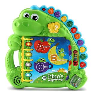 Leap Frog Juguete Dinolibro Enseña Y Aprende